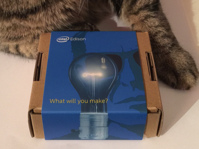 Intel Edison Unboxing